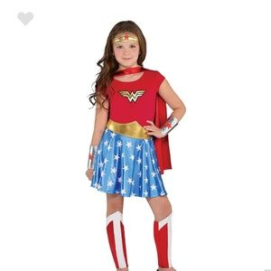 Other - New 7 Piece Girls Wonder Woman Costume